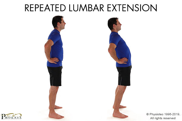 lumber extention exercise