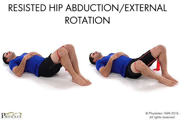 resisted hip abduction