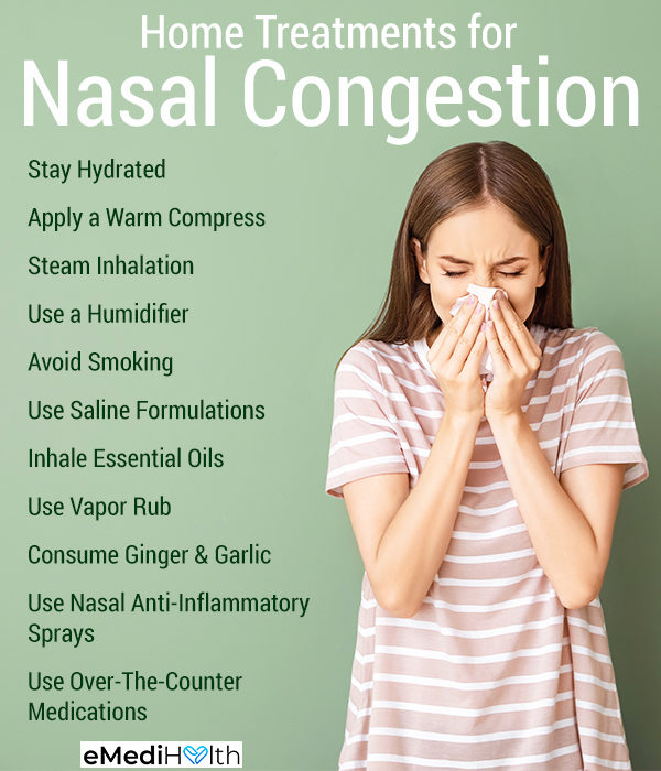 How to Clear a Blocked Nose (Nasal Congestion)