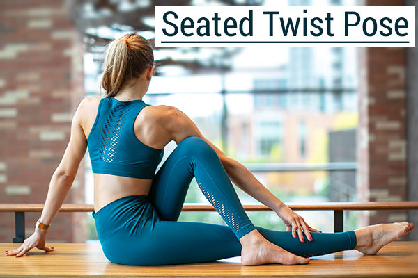 seated twist pose