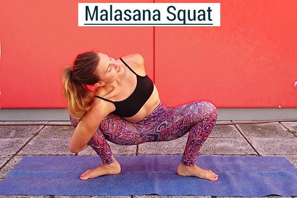 yogi squat pose for climbers