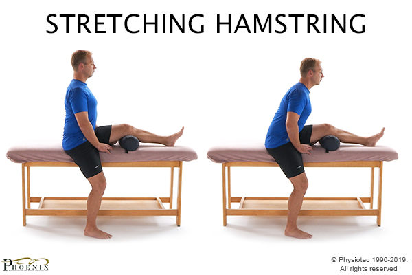 stretching hamstring for sciatic nerve pain