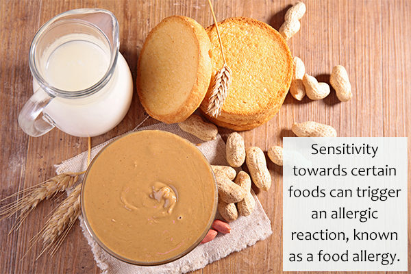certain foods can also serve as an allergy trigger