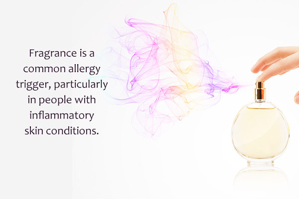people can have allergy to certain fragrances and scents
