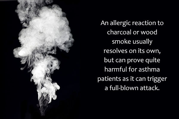 smoke and fumes can trigger an allergy