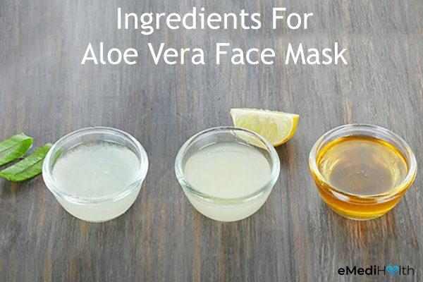 aloe vera face mask ingredients