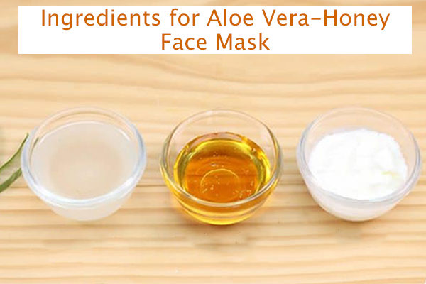 aloe vera-honey face mask ingredients