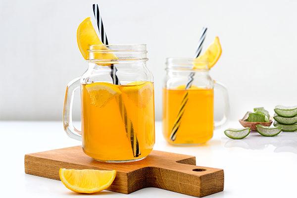 aloe vera orange juice recipe