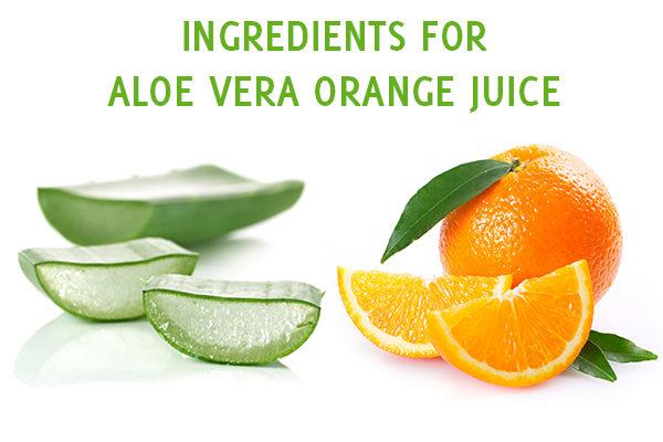 aloe vera orange juice ingredients