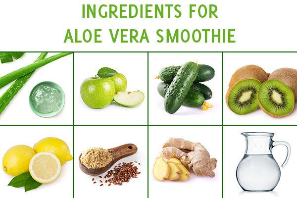 aloe vera smoothie ingredients
