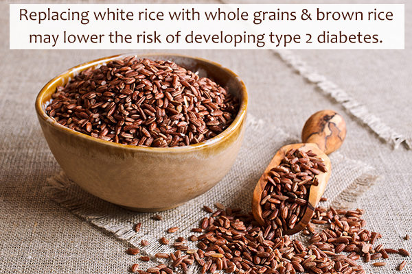brown rice consumption can help with blood sugar regulation