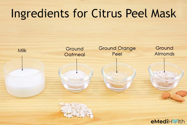 citrus peel face mask ingredients