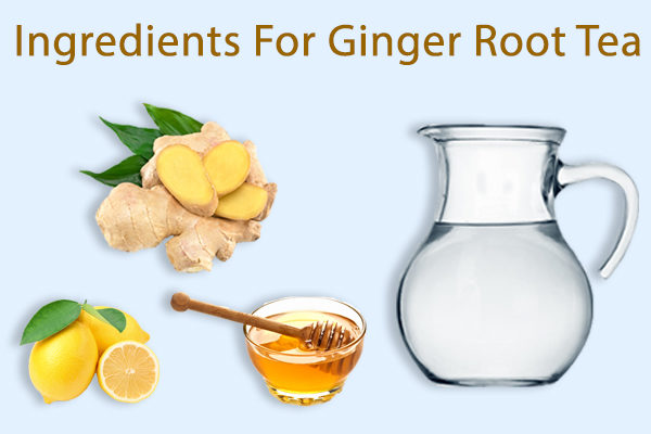 ginger root tea ingredients