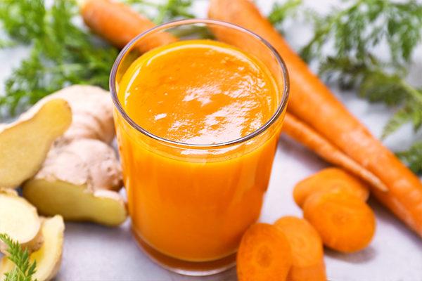 ginger-carrot juice