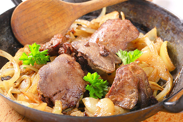 chicken liver is nutritionally beneficial