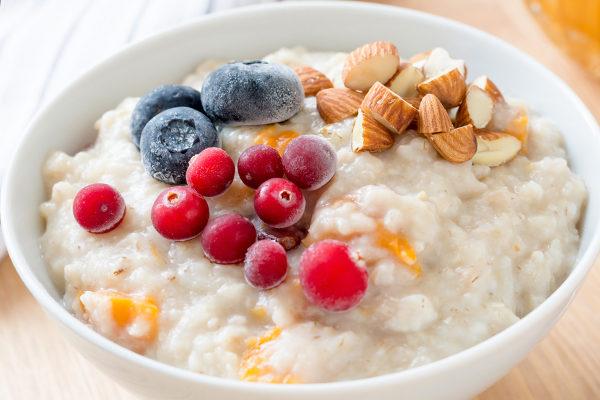 oatmeal helps you feel full for longer