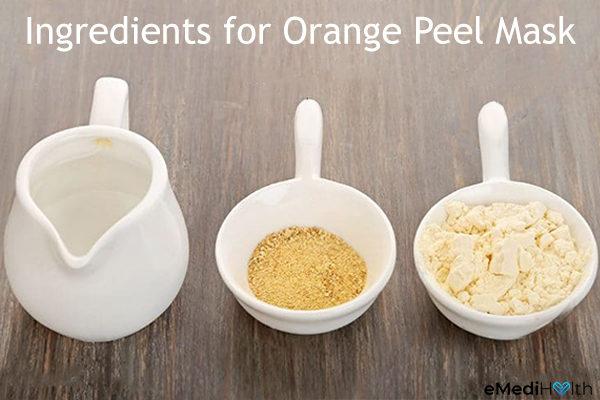 orange peel face mask ingredients