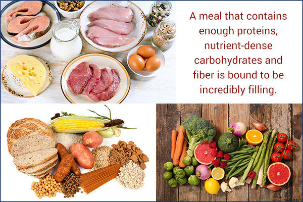 structure your meals to beat hunger