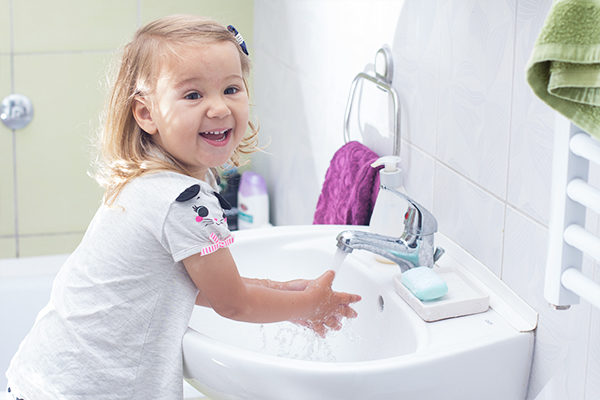 educate your kids on hand washing