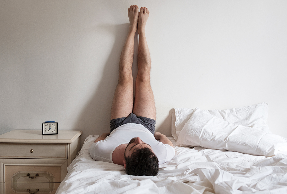 yoga poses to help you sleep better