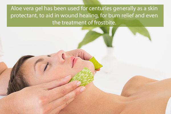 aloe vera benefits for the skin