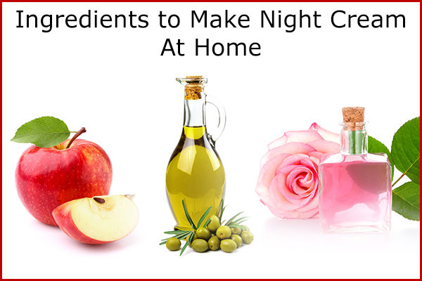 diy homemade night cream ingredients