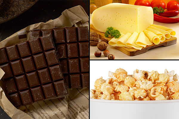 some treats and snacks that promote good health