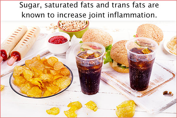 foods that can cause joint inflammation