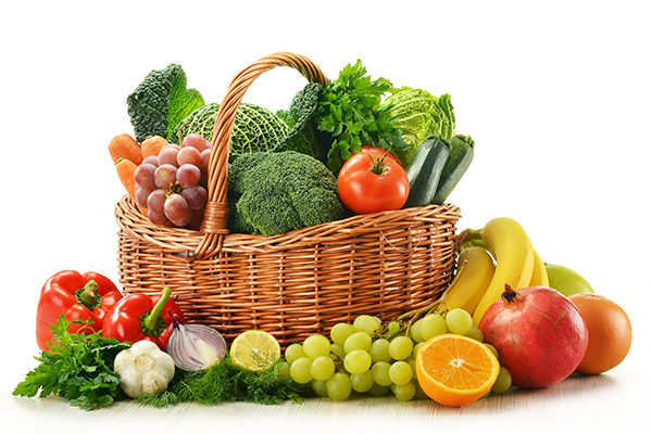 choose and consume fresh fruits and vegetables