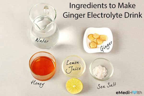 ginger electrolyte drink ingredients