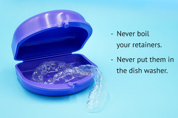 tips to consider while cleaning retainers