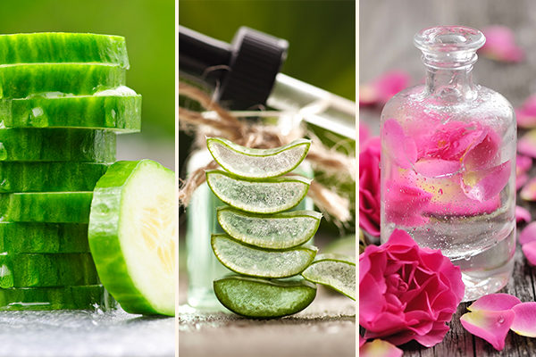 ingredients that can be used to make homemade facial mist