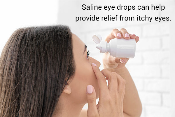 how to treat itchy eyes?