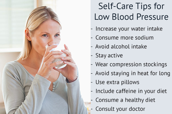 measures to raise low blood pressure