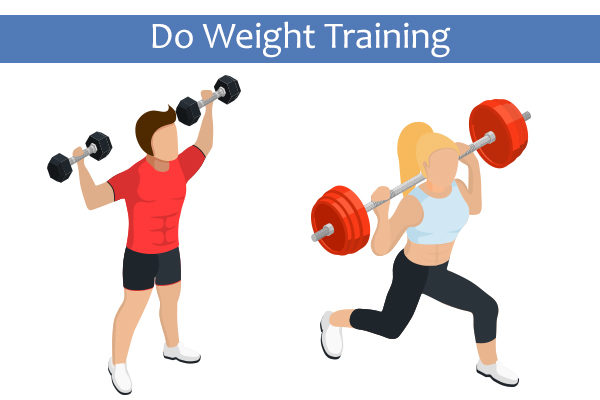 weight train to melt body fat