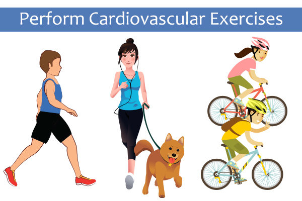perform cardiovascular exercises to speed up fat loss