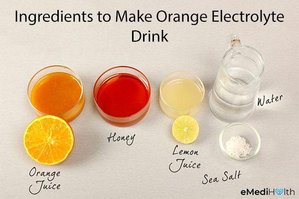 diy orange electrolyte drink ingredients