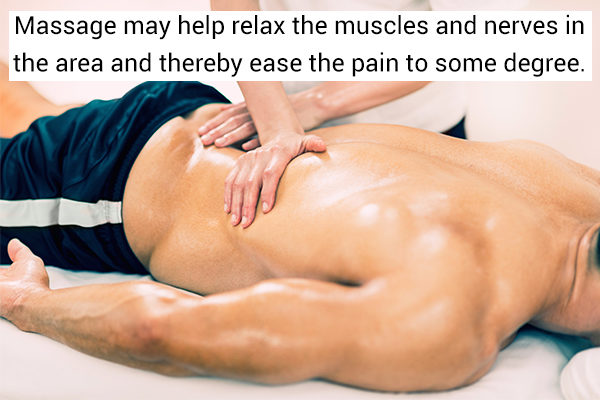 self-care tips to relieve pinched nerve