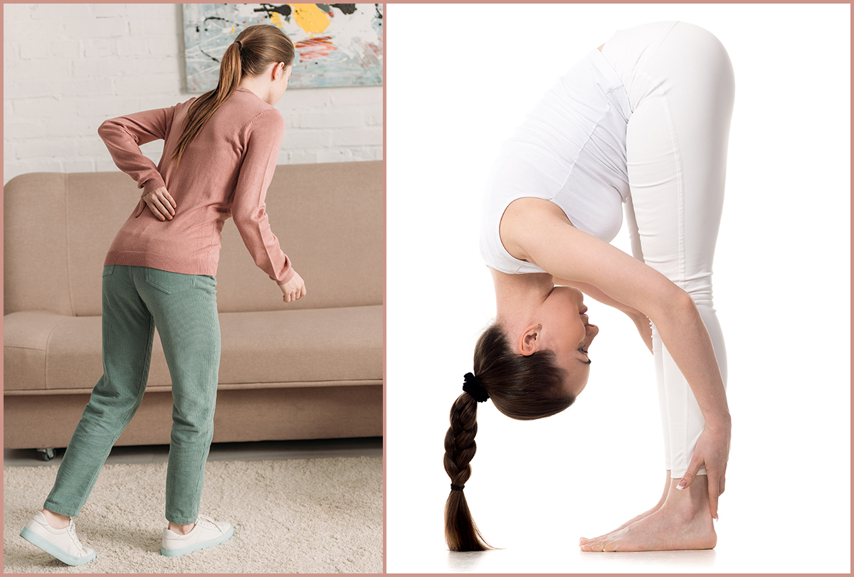 yoga poses for low back pain relief