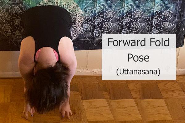 forward fold pose (uttanasana)