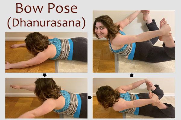 bow yoga pose (dhanurasana)