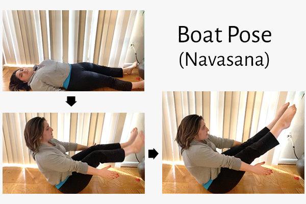 boat yoga pose (navasana)