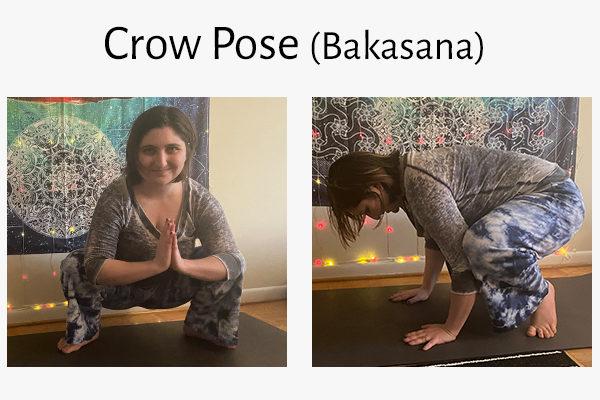 crow pose (bakasana)