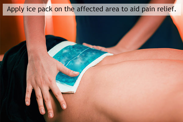 application of heat and cold therapy for back pain relief
