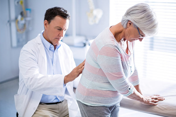 diagnosis of back pain