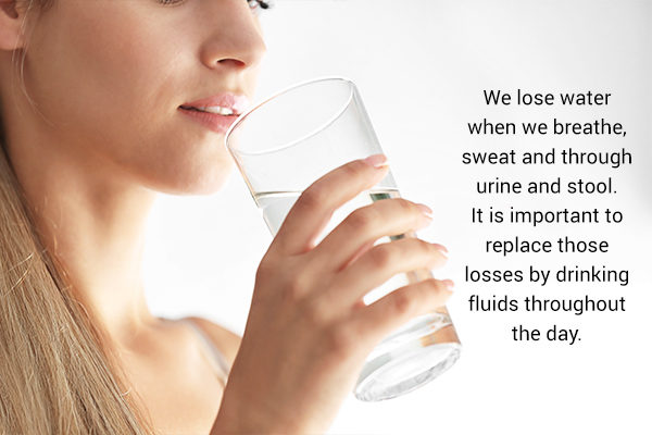can drinking ample amounts of water boost immunity?