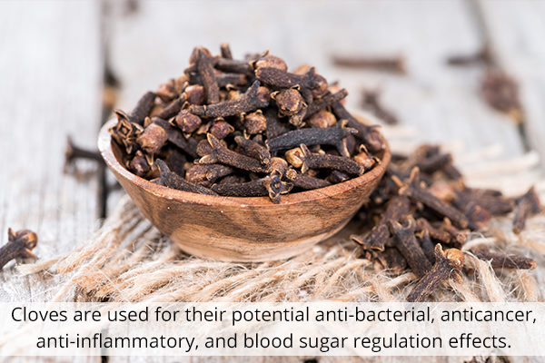 clove can help promote heart health