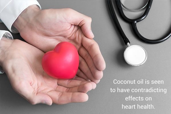 role of coconut oil in heart health
