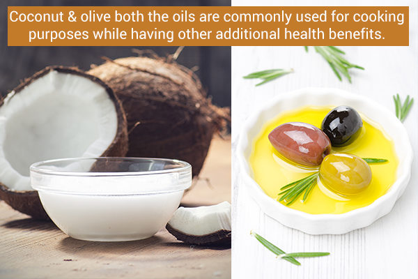coconut vs. olive oil which is healthier?