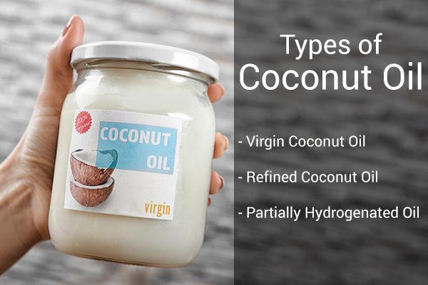varieties of coconut oil